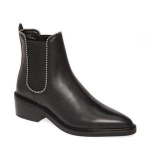 NEW Coach Bowery Ball Chain Chelsea Bootie 5.5B